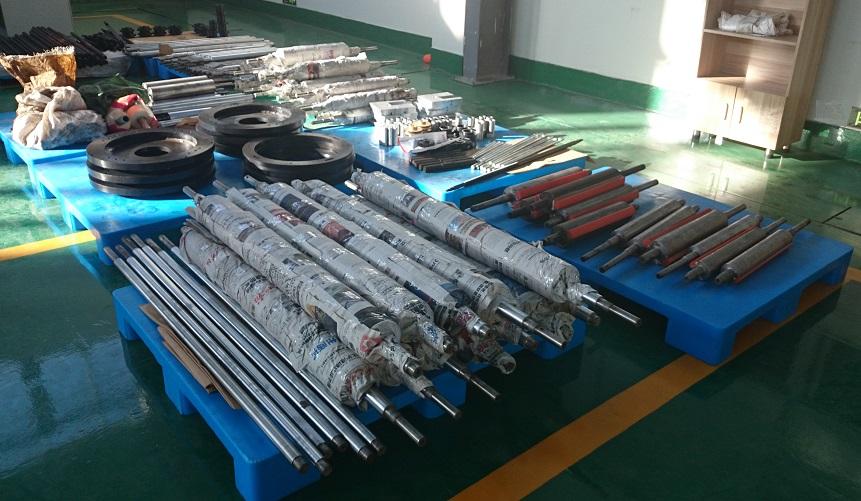Запасные части к пакетоделательным машинам