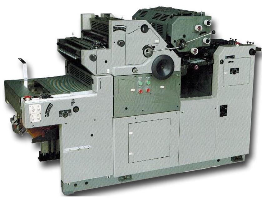 Офсетная печатная машина для бумажных стаканов