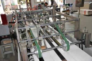 Конвейер проводки заготовки с новой системой подпрессовки и фальцевания