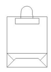 Схема пакета с ручкой