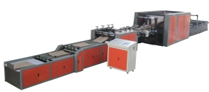high speed tube machine with gluing