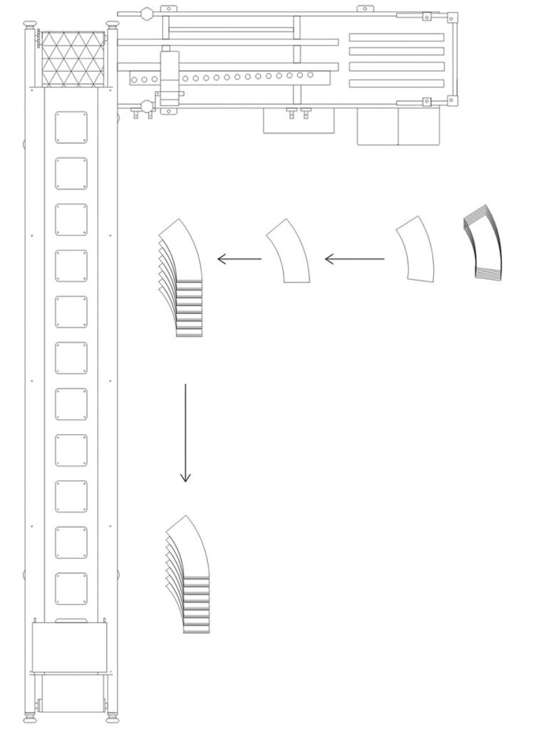 Схема клеепромазочной машины